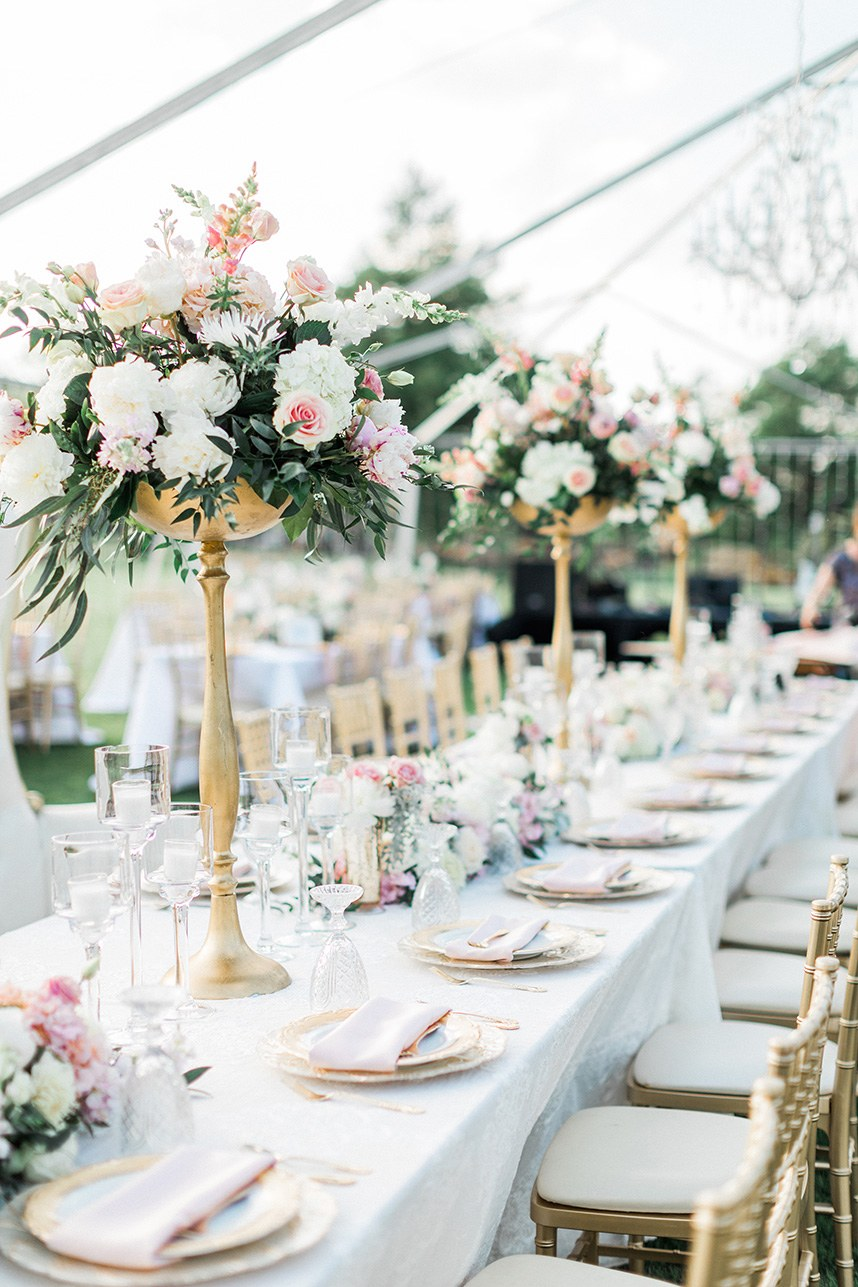 private party florals
