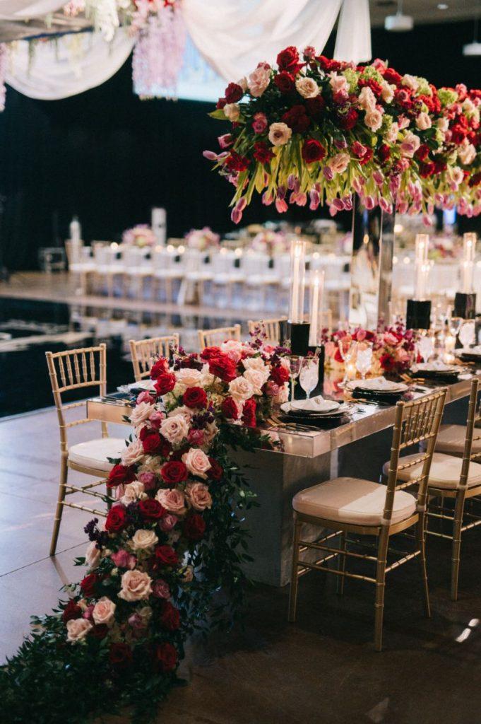 luxe winter wedding
