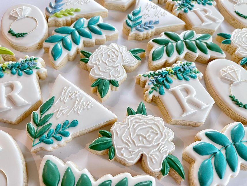 royal cookie co wedding cookies