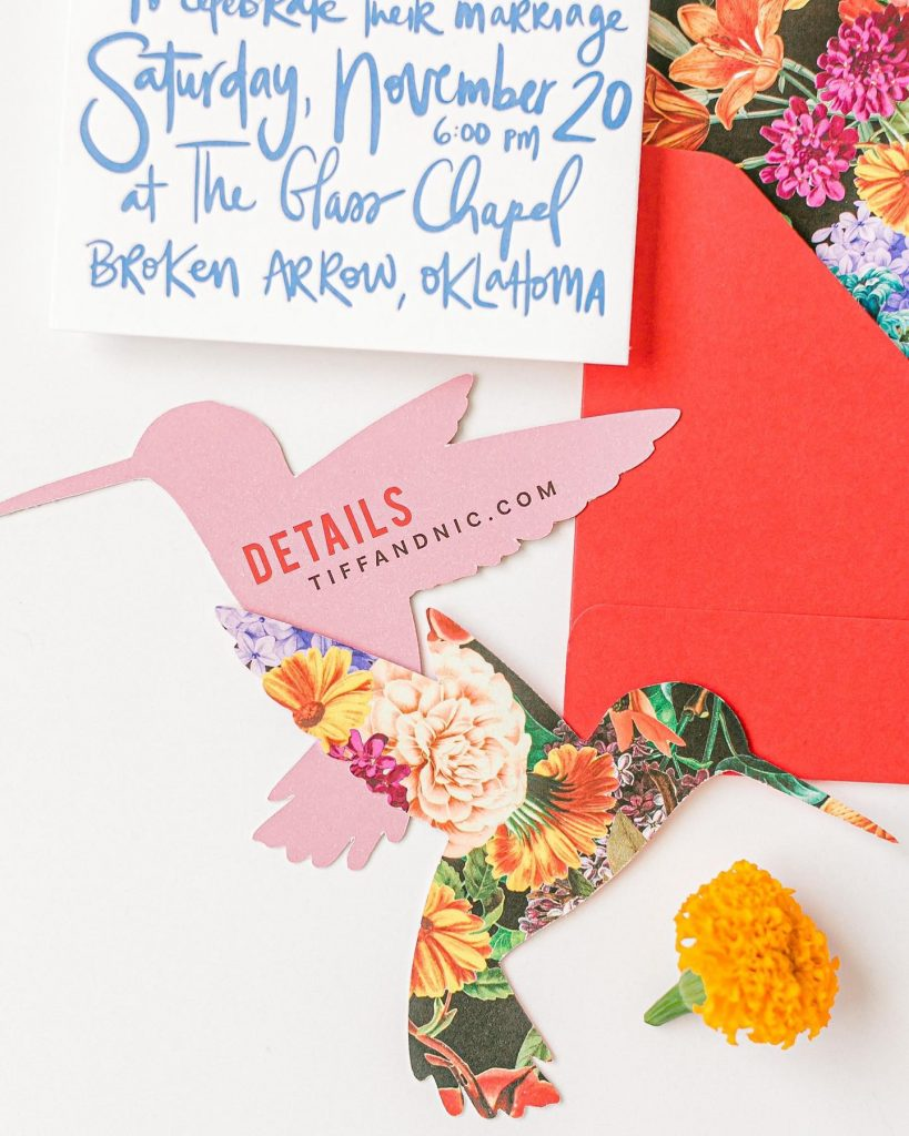 A little birdy told us that laurelandmarie's pretty paperie can make your jaw drop! Your invitations are about so much