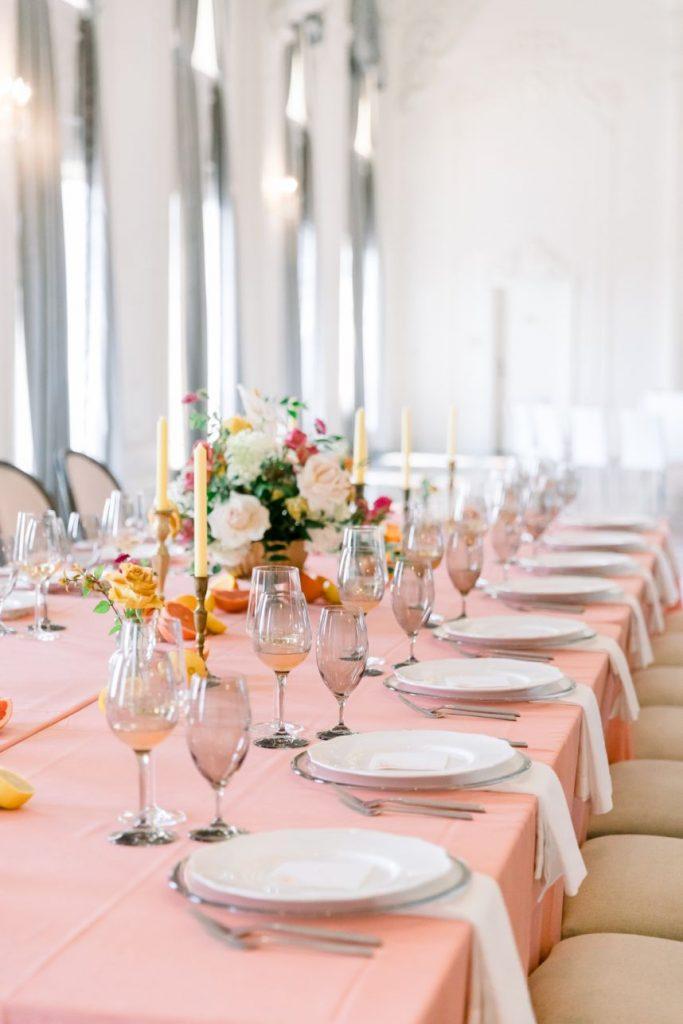 Citrusy Whimsical Wedding Inspiration at The Mayo Hotel