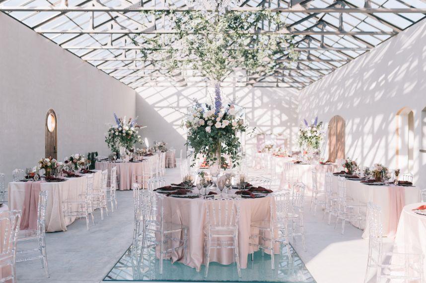 modern fairytale wedding