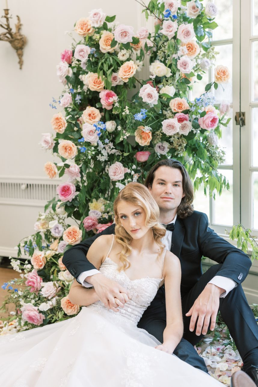 butterfly garden wedding inspiration